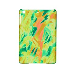 Green And Orange Abstraction Ipad Mini 2 Hardshell Cases by Valentinaart