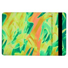 Green And Orange Abstraction Ipad Air Flip by Valentinaart