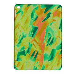 Green And Orange Abstraction Ipad Air 2 Hardshell Cases