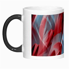 Blue And Red Smoke Morph Mugs by Valentinaart