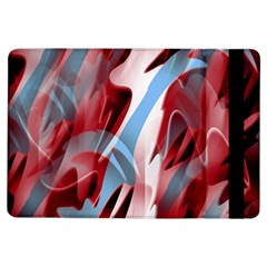 Blue And Red Smoke Ipad Air Flip by Valentinaart