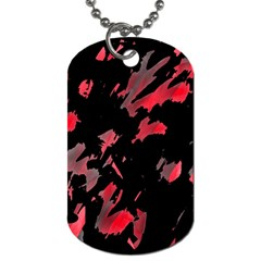 Painter Was Here  Dog Tag (one Side) by Valentinaart