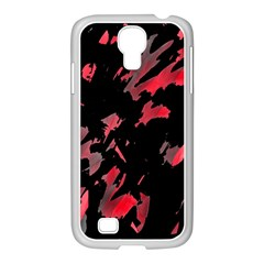 Painter Was Here  Samsung Galaxy S4 I9500/ I9505 Case (white) by Valentinaart