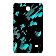 Painter Was Here   Cyan Samsung Galaxy Tab 4 (7 ) Hardshell Case  by Valentinaart