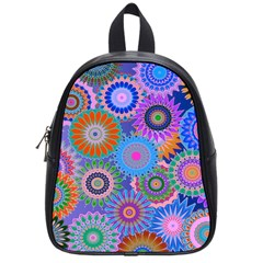 Funky Flowers B School Bags (small)  by MoreColorsinLife