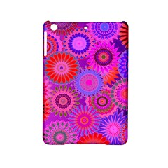 Funky Flowers C Ipad Mini 2 Hardshell Cases by MoreColorsinLife