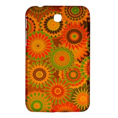 Funky Flowers D Samsung Galaxy Tab 3 (7 ) P3200 Hardshell Case  by MoreColorsinLife