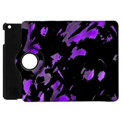 Painter Was Here   Purple Apple Ipad Mini Flip 360 Case by Valentinaart