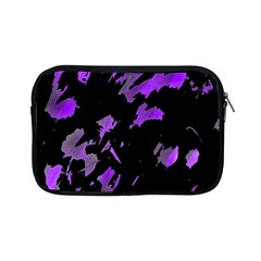 Painter Was Here   Purple Apple Ipad Mini Zipper Cases by Valentinaart