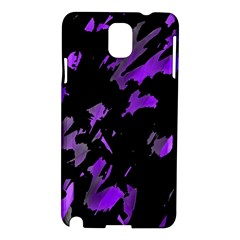 Painter Was Here   Purple Samsung Galaxy Note 3 N9005 Hardshell Case by Valentinaart