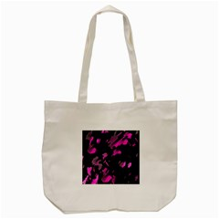 Painter Was Here   Magenta Tote Bag (cream) by Valentinaart
