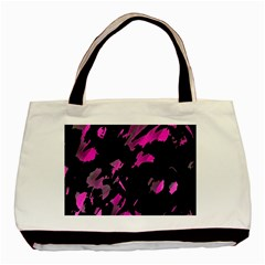 Painter Was Here   Magenta Basic Tote Bag