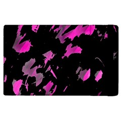 Painter Was Here   Magenta Apple Ipad 3/4 Flip Case by Valentinaart