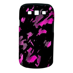 Painter Was Here   Magenta Samsung Galaxy S Iii Classic Hardshell Case (pc+silicone) by Valentinaart