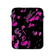 Painter Was Here   Magenta Apple Ipad 2/3/4 Protective Soft Cases by Valentinaart