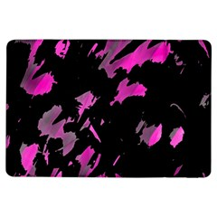 Painter Was Here   Magenta Ipad Air Flip by Valentinaart