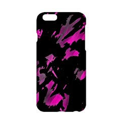 Painter Was Here   Magenta Apple Iphone 6/6s Hardshell Case by Valentinaart