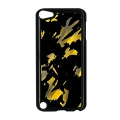 Painter Was Here   Yellow Apple Ipod Touch 5 Case (black) by Valentinaart