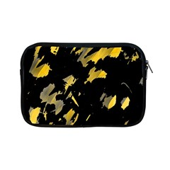 Painter Was Here   Yellow Apple Ipad Mini Zipper Cases by Valentinaart