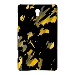 Painter Was Here   Yellow Samsung Galaxy Tab S (8 4 ) Hardshell Case  by Valentinaart