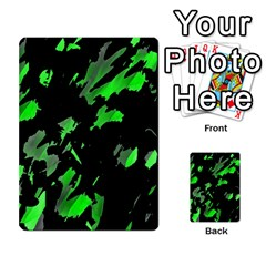 Painter Was Here   Green Multi Purpose Cards (rectangle)  by Valentinaart