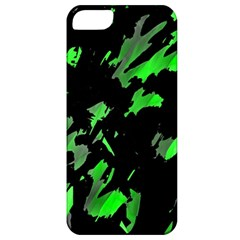 Painter Was Here   Green Apple Iphone 5 Classic Hardshell Case by Valentinaart