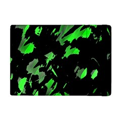 Painter Was Here   Green Apple Ipad Mini Flip Case by Valentinaart