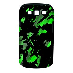 Painter Was Here   Green Samsung Galaxy S Iii Classic Hardshell Case (pc+silicone) by Valentinaart