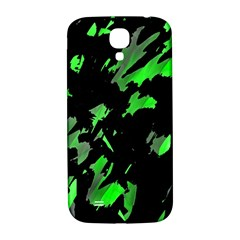 Painter Was Here   Green Samsung Galaxy S4 I9500/i9505  Hardshell Back Case