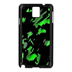 Painter Was Here   Green Samsung Galaxy Note 3 N9005 Case (black) by Valentinaart