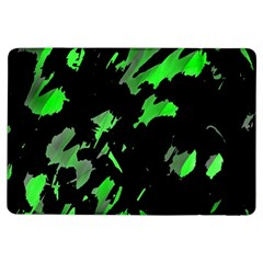 Painter Was Here   Green Ipad Air Flip by Valentinaart