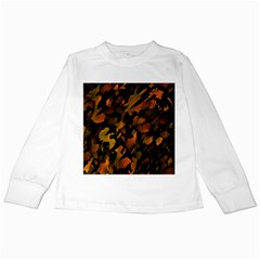 Abstract Autumn  Kids Long Sleeve T Shirts by Valentinaart