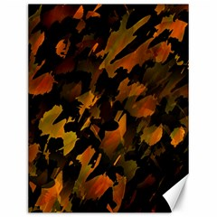 Abstract Autumn  Canvas 12  X 16   by Valentinaart