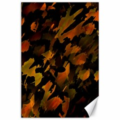 Abstract Autumn  Canvas 24  X 36  by Valentinaart