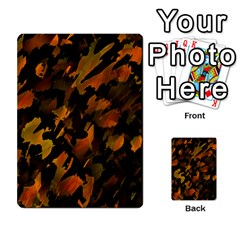 Abstract Autumn  Multi Purpose Cards (rectangle)  by Valentinaart
