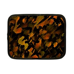 Abstract Autumn  Netbook Case (small)  by Valentinaart