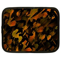 Abstract Autumn  Netbook Case (large)