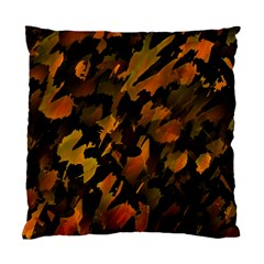 Abstract Autumn  Standard Cushion Case (one Side) by Valentinaart