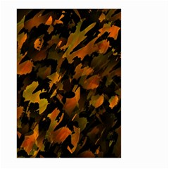 Abstract Autumn  Large Garden Flag (two Sides) by Valentinaart