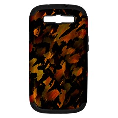 Abstract Autumn  Samsung Galaxy S Iii Hardshell Case (pc+silicone) by Valentinaart