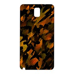 Abstract Autumn  Samsung Galaxy Note 3 N9005 Hardshell Back Case by Valentinaart