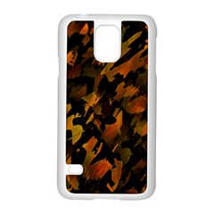 Abstract Autumn  Samsung Galaxy S5 Case (white) by Valentinaart