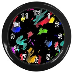 Painter Was Here Wall Clocks (black)