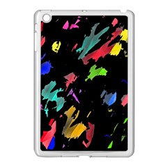 Painter Was Here Apple Ipad Mini Case (white) by Valentinaart