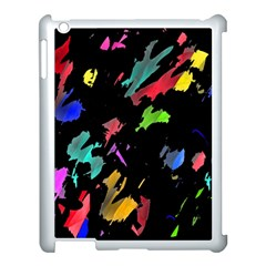 Painter Was Here Apple Ipad 3/4 Case (white) by Valentinaart
