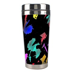 Painter Was Here Stainless Steel Travel Tumblers by Valentinaart