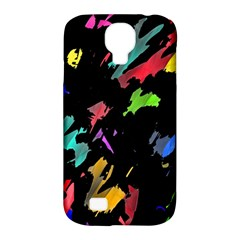 Painter Was Here Samsung Galaxy S4 Classic Hardshell Case (pc+silicone) by Valentinaart