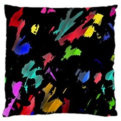 Painter Was Here Standard Flano Cushion Case (two Sides) by Valentinaart