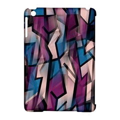 Purple High Art Apple Ipad Mini Hardshell Case (compatible With Smart Cover) by Valentinaart