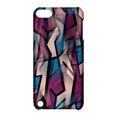 Purple High Art Apple Ipod Touch 5 Hardshell Case With Stand by Valentinaart